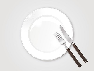 テーブルマナー食事終了