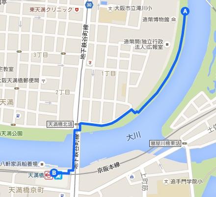 桜の通り抜けアクセス1
