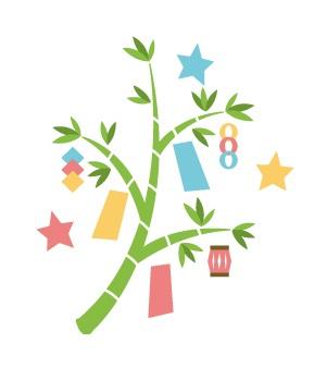 七夕の笹飾り処分方法