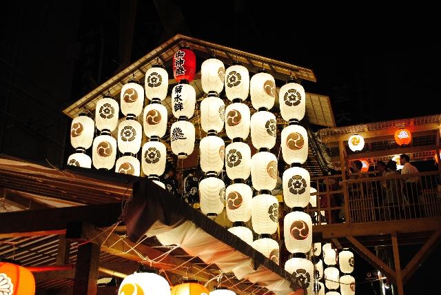 祇園祭の屋台