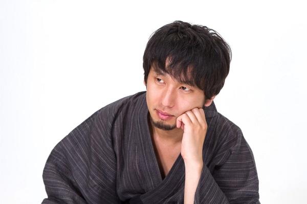 男性の浴衣持ち物